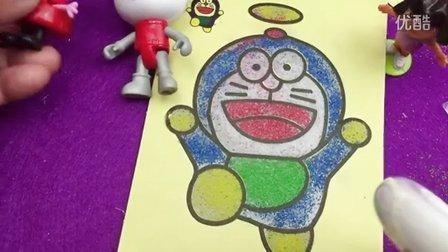 哆啦A梦 沙画 变形警车珀利 小猪佩奇 一家人 海底小纵队 小黄人大电影 爱探险的朵拉