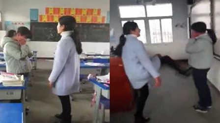 爆新鲜 网传湖北大悟教师学生 校方:系休学学生