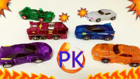 【魔力玩具秀】2月魔幻车神抽奖活动及对决展示 魔幻车神自动爆裂变形玩具车机器人
