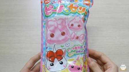 【喵博搬运】【日本食玩-可食】桃子布丁( ‵▽′)ψ