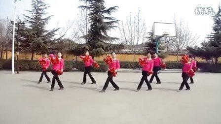 河北省邯郸市峰峰矿区五矿青春飞舞健身队  拜新年