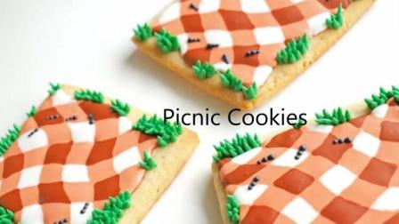 【喵博搬运】【食用系列】野餐布糖霜饼干<(* ̄▽ ̄*)/