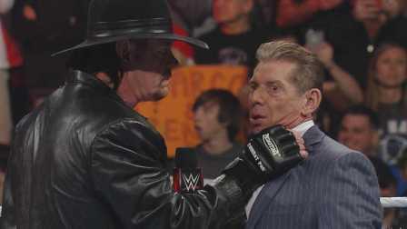 Raw 2/29 葬爷上演锁喉一刻 誓将手刃WWE大公子