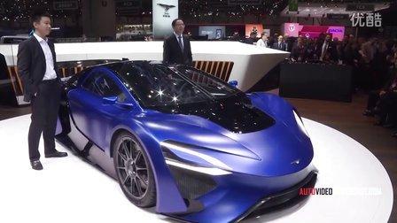 2016日内瓦车展 泰克鲁斯·腾风全球首发超跑AT96 Techrules