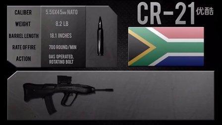南非 维克多CR-21无拖式突击步枪