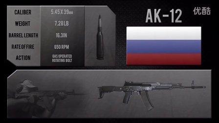 俄罗斯 卡拉什尼柯夫AK-12突击步枪
