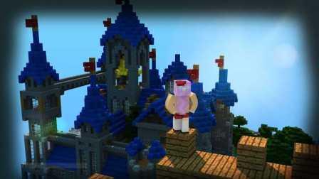 五歌我的世界原版生存 1.9方块学园领域服2——山顶的魔法学园!