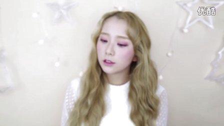 【DAYI_yi】韩系的自然波纹卷发,泰妍I仿妆里的卷发分享