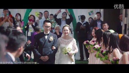 神木的第一场室外婚礼长什么样?