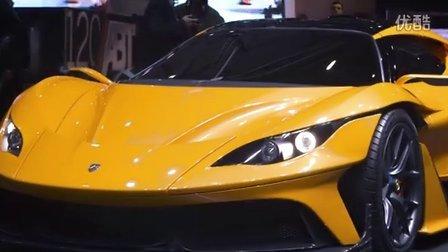 【2016 日内瓦车展 Apollo Arrow】Gumpert重新塑造的一款车