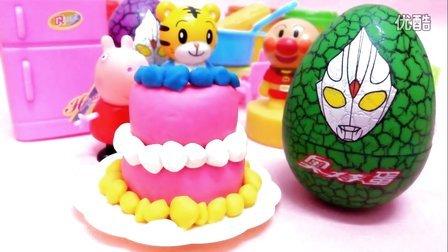 白雪玩具屋 2016 彩泥做两层蛋糕 彩泥做两层蛋糕