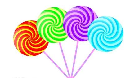<爱我陪我>棒棒糖 亲子游戏 儿童手工diy粘土 粘土教程 儿童学科学 幼儿教育