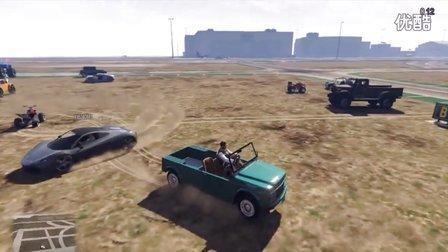 【预言解说】GTA5《速度与基情8》爆笑侠盗飞机场赛跑 山地越野 小巧玲珑 富二百多代