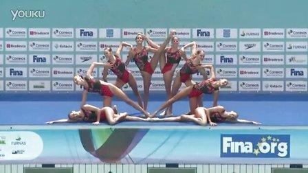 2016年里约奥运会花样游泳资格赛集体技术自选 -- 西班牙