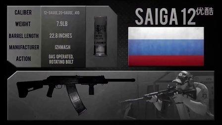 俄罗斯 卡拉什尼柯夫Saiga-12S半自动霰弹枪