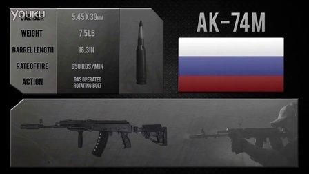俄罗斯 卡拉什尼柯夫AK-74M突击步枪
