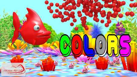 Colors for Children to Learn with Fish Bubble v2