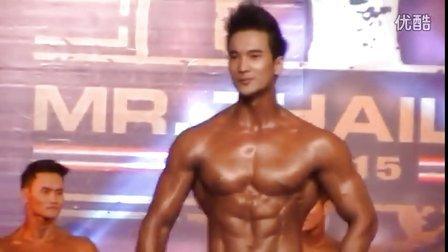 健身比赛 泰国男模