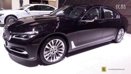 日内瓦车展实拍 宝马BMW M760i xDrive v12