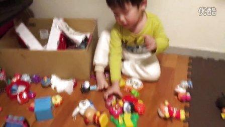 happy face 面包超人 2016 宝宝整理玩具 宝宝整理玩具