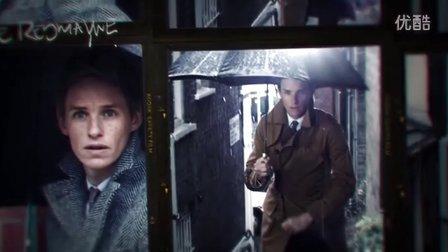 埃迪·雷德梅尼佩戴欧米茄星座系列尊霸腕表,于伦敦多处拍摄大片