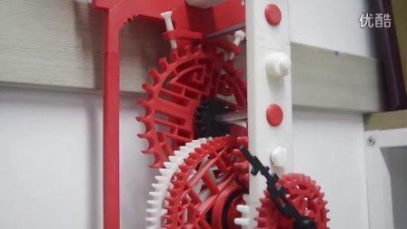 3D打印中国风创意时钟