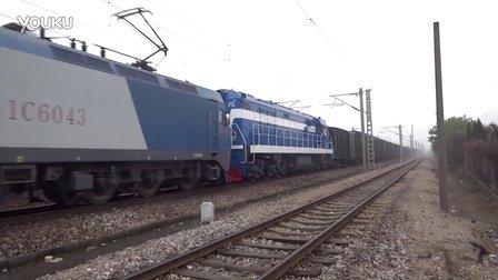 [拍火车]HXD1C+DF5拉棚车 广铁株段[湘潭] 沪昆下行