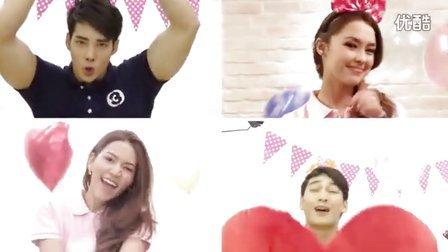 【鹌鹑蛋】泰国3台46周年台庆 Pat, IceA, Apo, Dekhun版《Happy Birthday》 官方MV