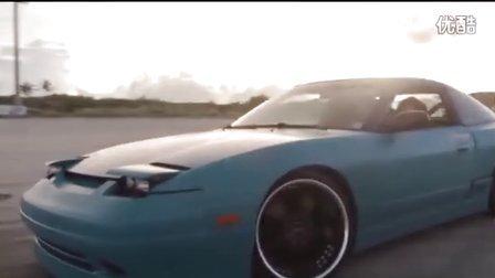 女司机开车急速飘逸!