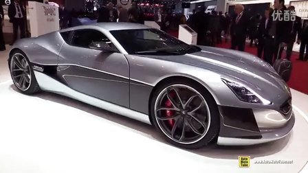日内瓦车展实拍Rimac Concept One 《1088hp 1600nm》