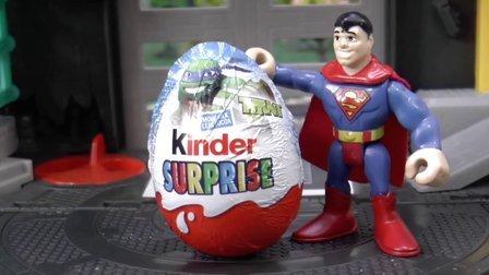 托马斯和他的朋友们 蝙蝠侠&超人寻找奇趣蛋 Thomas and Friends 托马斯小火车 惊喜蛋 Batman Superman