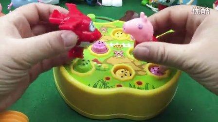 亲子游戏 打地鼠 海底小纵队 超级飞侠 小猪佩奇 大头儿子小头爸爸 灵动蹦蹦兔