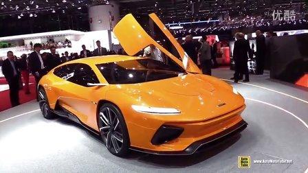 日内瓦车展实拍Italdesign GT Zero Concept