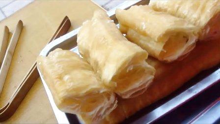 无矾油条的做法  油条揣面  油条面的配方 油条的做法 台湾脆皮大油条酥皮油糕糖糕