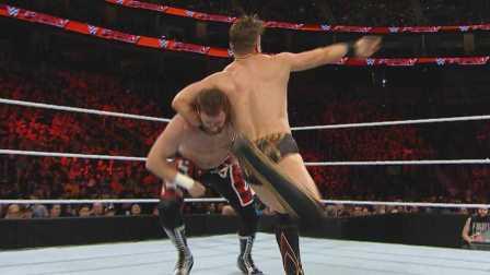 【Raw 3/14】疯狂萨米斩落米兹