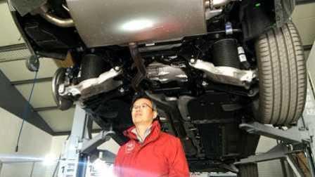 ams车评网 从夏看底盘 沃尔沃XC90 T8插电混合 底盘解析视频