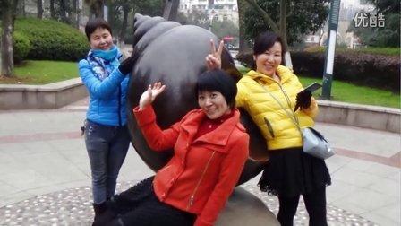 野牡丹健身队--铜陵市螺蛳山一日游【桃花朵朵开】