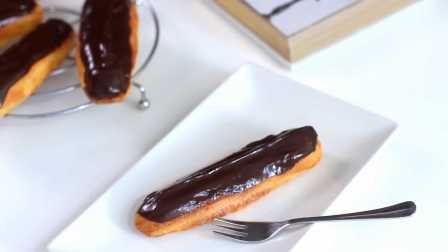 【大吃货爱美食】精致甜点——香草泡芙手指饼~160317