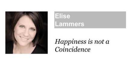 Happiness is not a Coincidence 幸福并非巧合Elise@TEDxFuxingPark