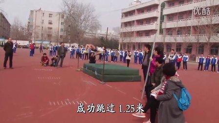 扣人心弦的比赛  新乡市牧野区小学女子跳高夺冠纪实