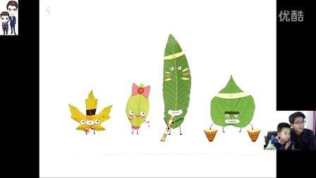 Labo叶子:用落叶制作各种充满艺术的手工★长颈鹿、鸵鸟、小鸟、人物等