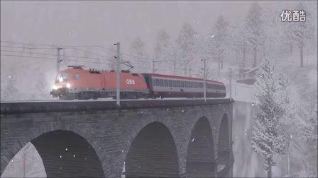 模拟火车2016 奥地利线路Semmeringbahn试玩