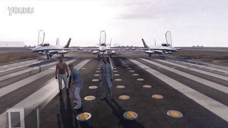【预言解说】GTA5-侠盗空中三兄弟:版本二 言哥穿越了 打开平行世界的同道 穿越到另一个世界 战斗机变直升机 这个世界如此陌生 终于回到自己的世界了