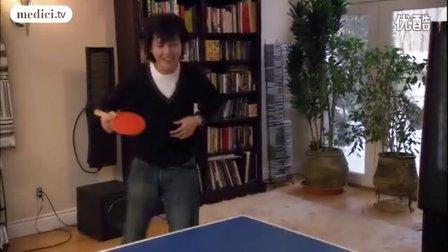 李云迪高清纪录片《新浪漫主义》-打乒乓球