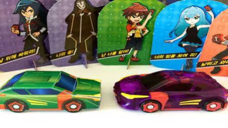 【魔力玩具学校】疾风迅龙 DIY魔幻车神制作及技能、性格介绍(2)自动爆裂变形玩具车机器人