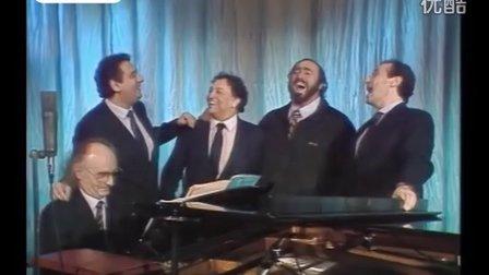 1990年珍贵影片:  世界三大男高音歌唱《我的太阳》