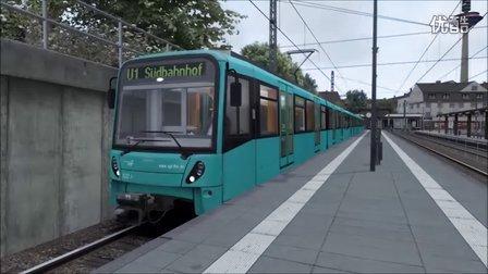 模拟火车2016 U-Bahn Frankfurt U1线试玩