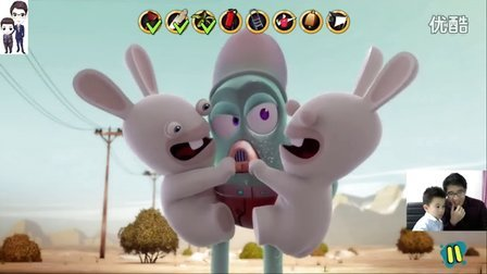 疯狂的兔子:戳戳乐(疯兔入侵)第9集:疯狂的
