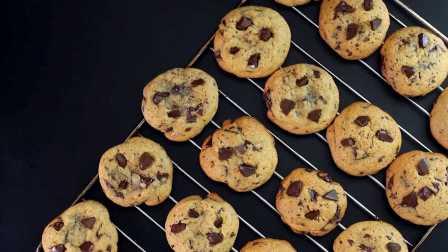 【大吃货爱美食】精致甜点——巧克力碎曲奇饼干 150324