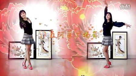 双人舞蹈视频大全 十送红军 俞函广场舞